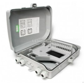 image of SC Fiber Optic 24 Port FTTH Termination Box (S257)