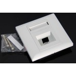 1 Ports FTTH Fiber Optic Termination Panel Wall Plate Outlet (S302)