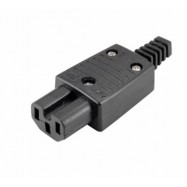 image of IEC320 C15 10A 250V Rewireable Socket Adapter Plug (S308)