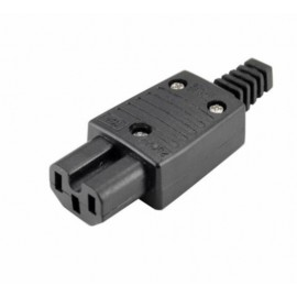 image of IEC320 C15 10A 250V Rewireable Socket Adapter Plug (S308)