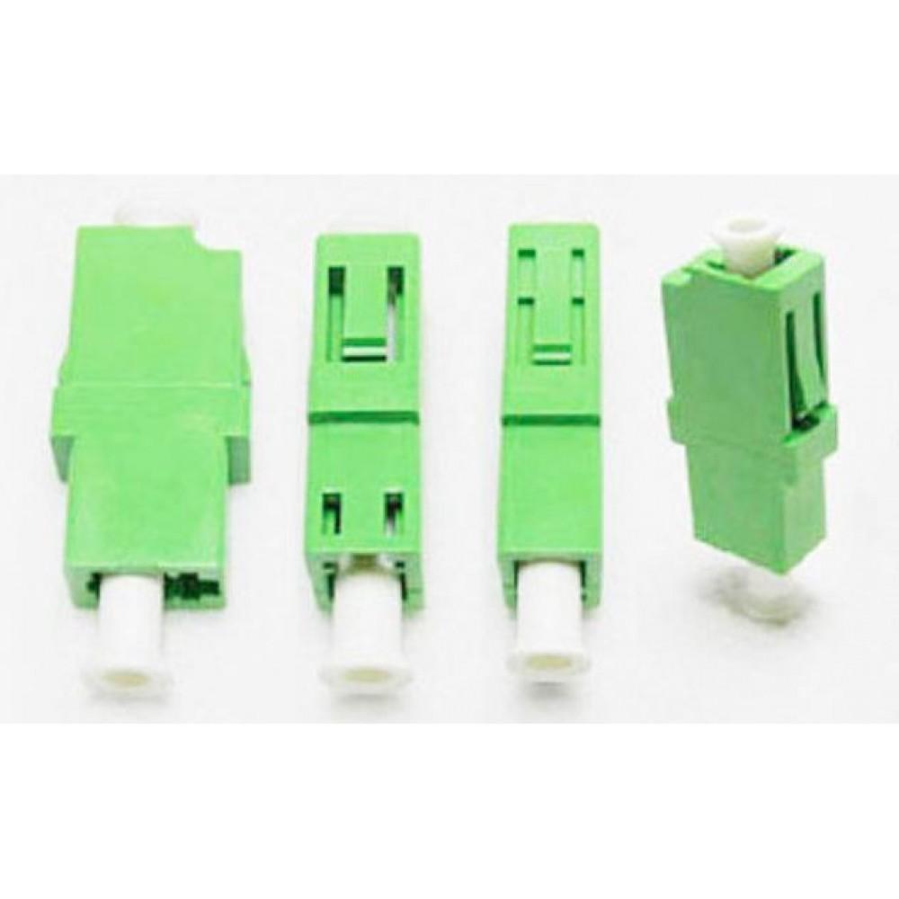 LC-LC APC MM Multimode Fiber Optic Joint Simplex Coupler