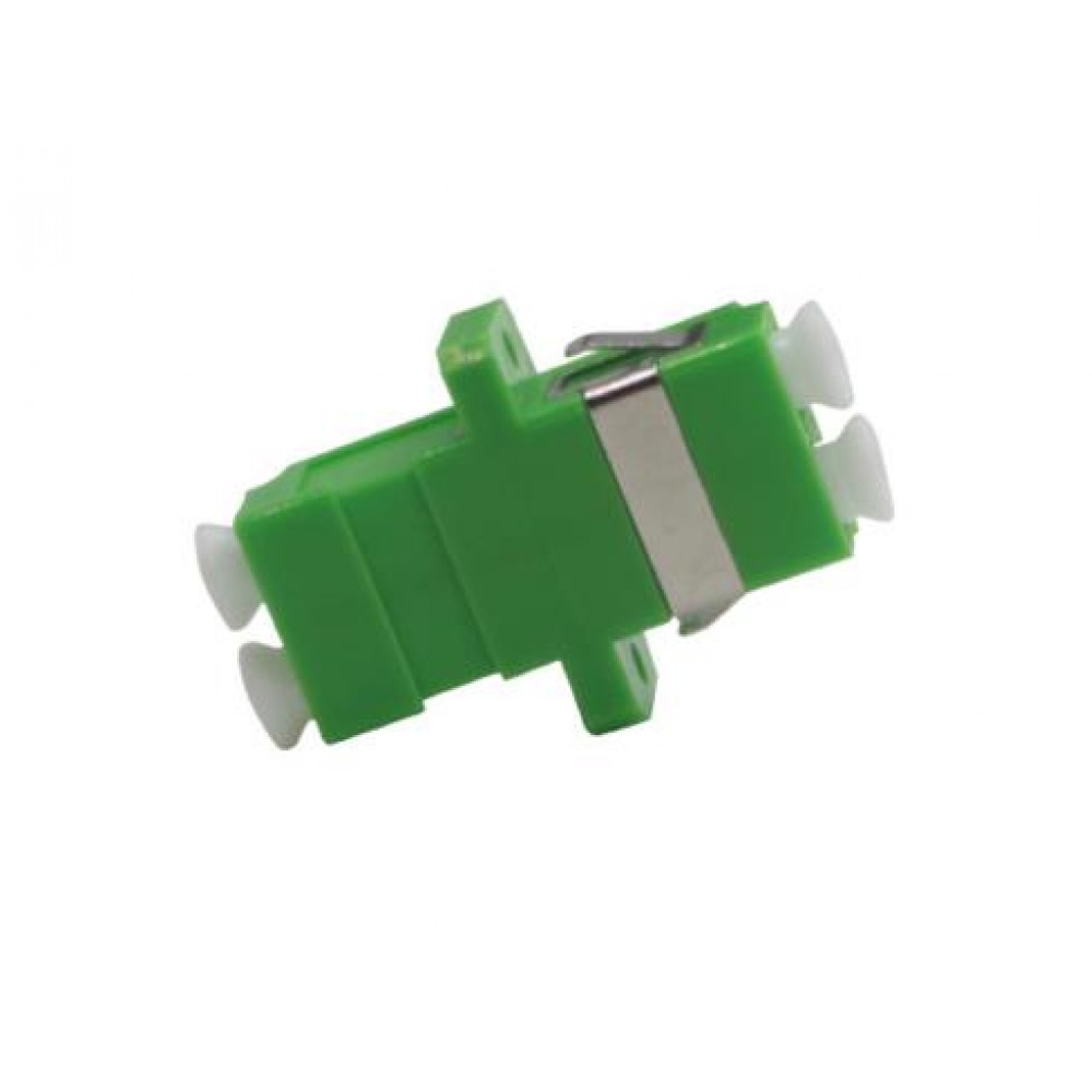 LC-LC APC MM Multimode Fiber Optic Joint Duplex Coupler Flange (S290)