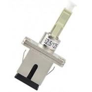 image of SC/UPC (F) TO LC/UPC (M) Multimode 62.5/ 125 Hybrid Adapter (S298)