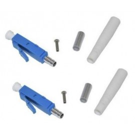 image of LC/ UPC Fiber Optic Connector Single Mode Duplex Blue (S292)