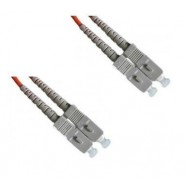 image of SC-SC MultiMode MM Duplex Fiber Optic 50/125um 5 Meter (S319)