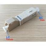 SC to LC MM SC/ UPC 50/125 Multimode HYBRID Fiber ADAPTER (S313)