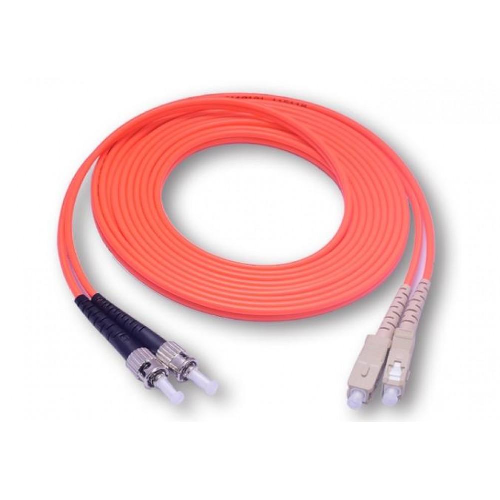 SC-ST MULTIMODE MM DUPLEX 50/125 FIBER OPTIC CABLE 3 METER (S328)