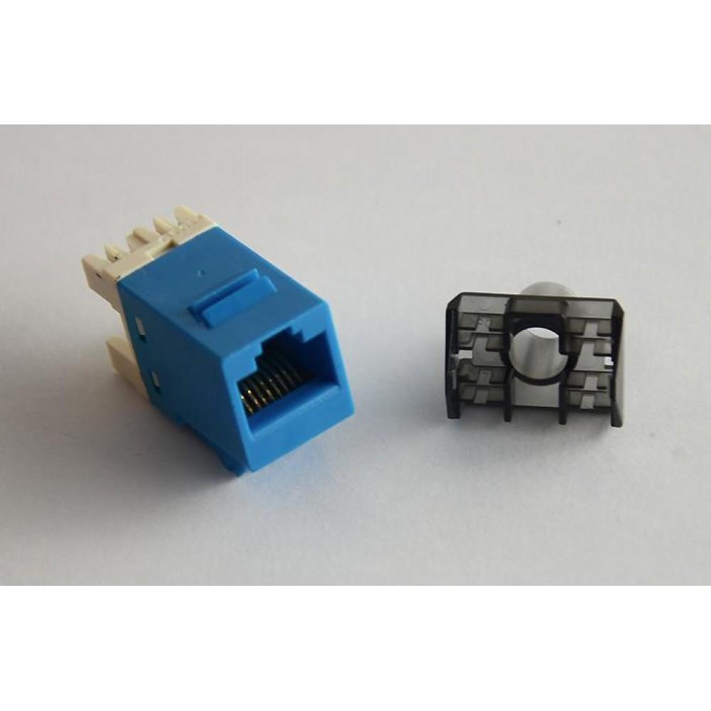 Cat 6 Gigabit RJ45 UTP LAN Network Keystone Modular Jack (S342)