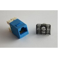 image of Cat 6 Gigabit RJ45 UTP LAN Network Keystone Modular Jack (S342)