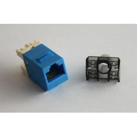 image of Cat 6 Gigabit RJ45 UTP LAN Network Keystone Modular Jack (S342)