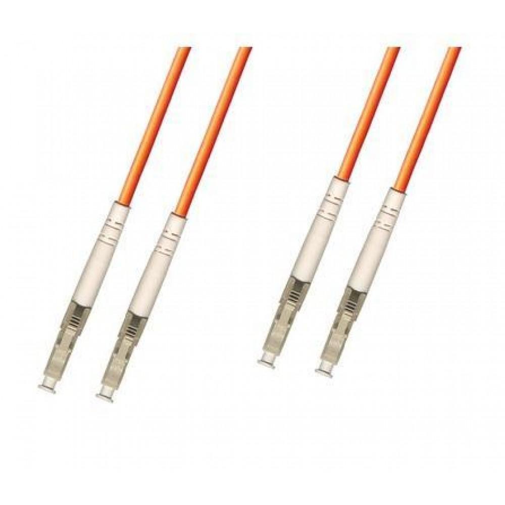 LC-LC 50/125 MM Multimode Duplex Fiber Optic Patch 10Meter (S336)