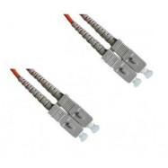 image of SC-SC MultiMode MM Duplex Fiber Optic 50/125um 10 Meter (S320)