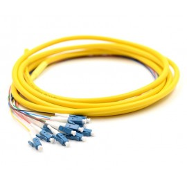 image of Single Mode LC 12 Core Pigtail 1.5 meter Fiber Cable (S341)
