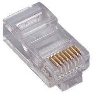 image of RJ45 CAT6 MODULAR CONNECTOR 100PCS (S325)