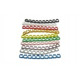 Cable Label Marker Numbering 0 - 9 CAT6 (S379)