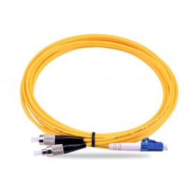 image of LC-FC 9/125 Single Mode Duplex Fiber Cable 10 Meter (S356)
