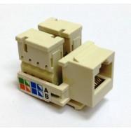 image of Cat5E Cat 5E RJ45 UTP LAN Network Keystone Modular Jack(S378)