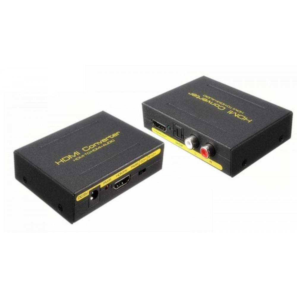 HDMI TO HDMI + AUDIO SPDIF + L/R (S377)