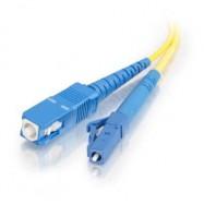 image of LC-SC 9/125 Single mode simplex Fiber Optic cable 5 Meter (S353)