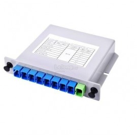 image of FTTH Fiber Optic PLC Splitter 1x8 SC Fiber Optical Branching Box(S380)