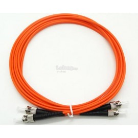 image of FC-ST Multimode MM Duplex fiber Optic Cable 50/125 3 Meter (S416)