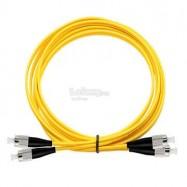 image of FC-ST SM Single Mode Duplex Fiber Optic Cable 9/125 10 Meter (S419)