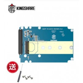 image of KINGSHARE M.2 NGFF SSD to 2.5' SATA Converter Adapter (S403)