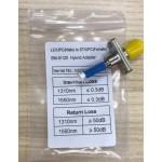 LC/UPC (MALE) TO ST/UPC (FEMALE) 9/125 HYBRID ADAPTER (S408)