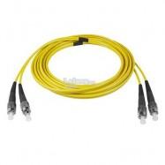 image of FC-FC Single Mode Duplex 9/125 Fiber Optic Cable 10 meter (S459)