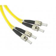image of ST-ST Singlemode Duplex 9/125 Fiber Optic Cable 3M (S451)