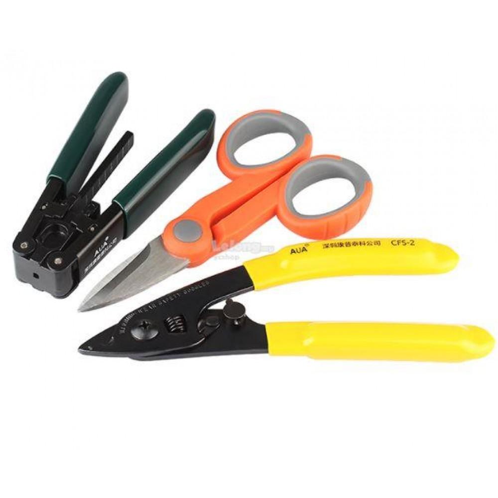 Fiber Optic Stripper + Fiber Optic Stripping Tool + Cutter (S429)