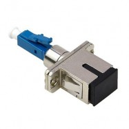 image of LC/UPC (MALE) TO SC/UPC (FEMALE) SM-9/125 HYBRID ADAPTER (S444)