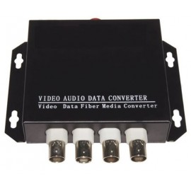 image of 4 Port 1080P AHD/ HDCVI/ TVI Fiber Media Converter RS485 (S480)