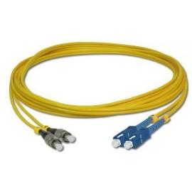 image of SC-FC SM Duplex 9/125 Fiber Optic Cable 3 meter (S464)