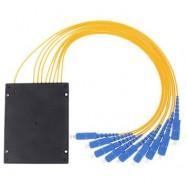 image of 1X8 Fiber Optic SC Single Mode PLC Splitter 1 To 8 (S468)