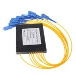 1X8 Fiber Optic SC Single Mode PLC Splitter 1 To 8 (S468)