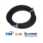 Unifi Maxis Modem Fiber Optic Cable Outdoor 40 Meter Black (S489)