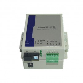 image of Universal Bidirectional RS485 / 422 Fiber Optic Media Converter (S478)