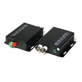 image of 2 Port 1080P AHD/ HDCVI/ TVI Fiber Media Converter RS485 (S482)
