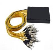 image of 1X16 Fiber Optic FC Single Mode PLC Splitter 1 To 16 (S471)