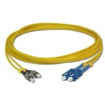 SC-FC SM Duplex 9/125 Fiber Optic Cable 5 meter (S465)