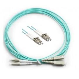 image of LC-LC 50/125um OM3 Multimode Duplex Fiber Optic 15 Meter (S500)