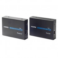image of HDMI Over Ethernet CAT5E/6/7 Full HD 1080P 120M HDMI EXTENDER (S504)