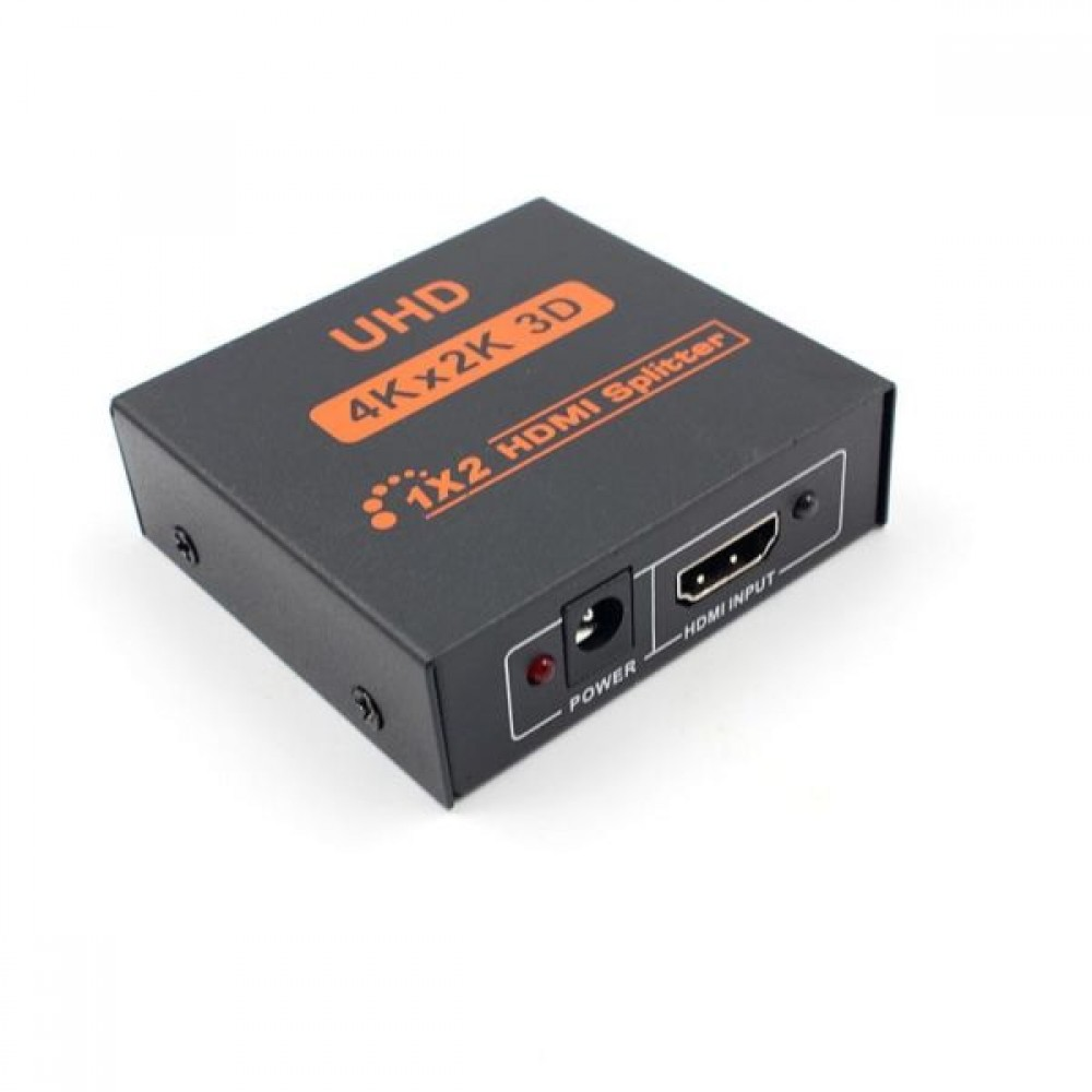 3D 2K 4K HDMI SPLITTER 1 IN 2 OUT 1X2 WITH ADAPTER (S507)