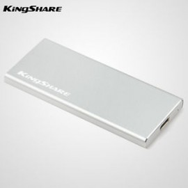 image of KingShare 2242 M.2 NGFF SSD to Type-C Aluminium Casing (S525)