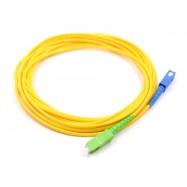 image of SC/UPC- SC/APC SINGLE MODE SIMPLEX FIBER OPTIC CABLE 3M (S512)
