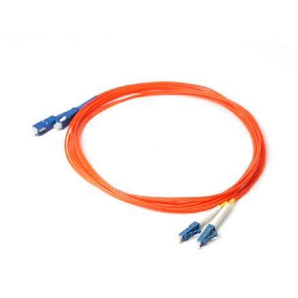 LC-SC Multi Mode Duplex Fiber Optic 62.5/125um 10 meter (S523)