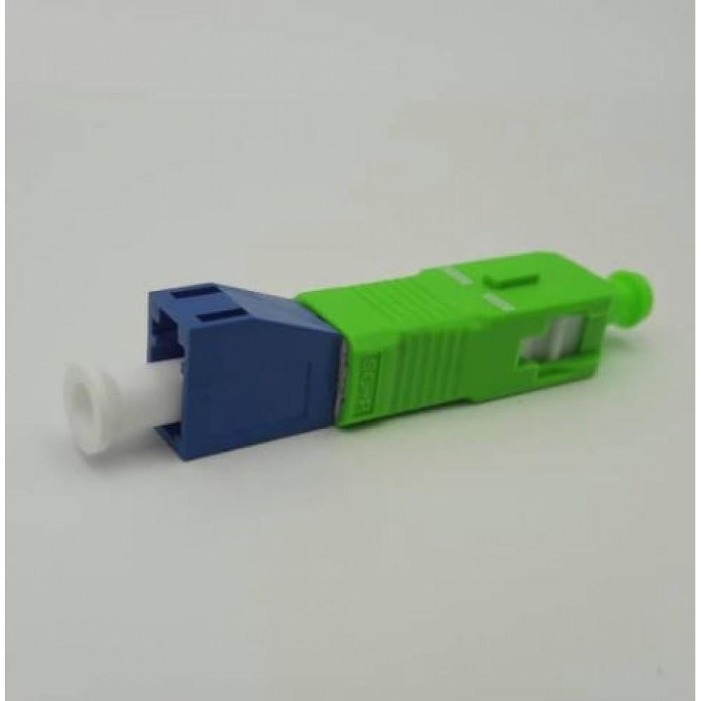 LC/UPC (F) to SC/APC (M) Singlemode 9/125 Hybrid Adapter (S533)