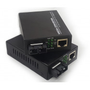 image of SM Duplex Fiber to Ethernet Gigabit Media Converter (FMC-SMD-G), S616