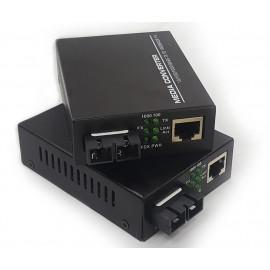 image of SM Duplex Fiber to Ethernet Gigabit Media Converter (FMC-SMD-G), S616